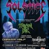 solstice- thrash or die poster