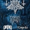 DARK_FUNERAL &  CARACH_ANGREN All Bands Poster