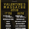 Valentine's massacre 2018 FULL POSTER