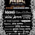 Gefle Metal fest 2018 line up 26 04