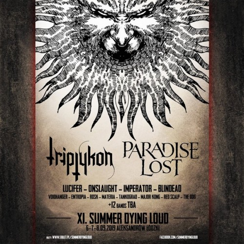 Summer Dying Loud 2019 poster