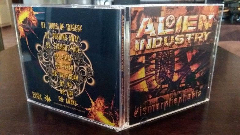 ALIEN INDUSTRY -Dismorphophobia