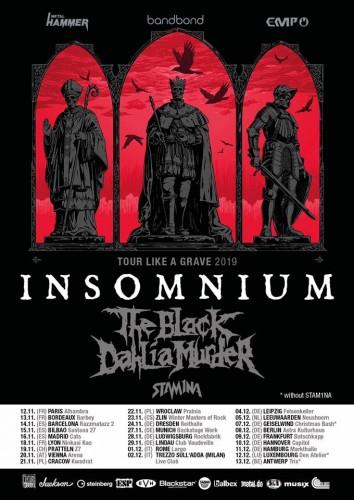 insomnium tour 2019