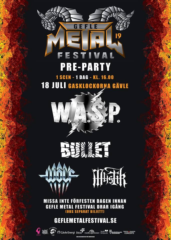 Gefle metal fest preparty 2019