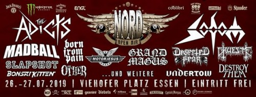 Nord open air 2019 poster