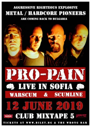 Pro-pain Poster smacked