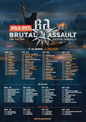 brutal assault 2019 sold out