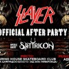 slayer afterparty with Satyricon