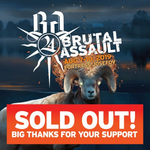 Brutal Assault 2019 sold