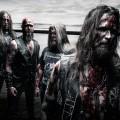 Left to right: Tord (drums), Mikael (bass & vocals), Ragnar (guitars & vocals), Mats (lead vocals & guitars)