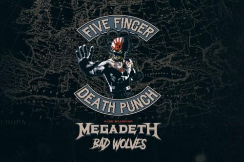 fivefingermegadethbadwolves2020tourlogos