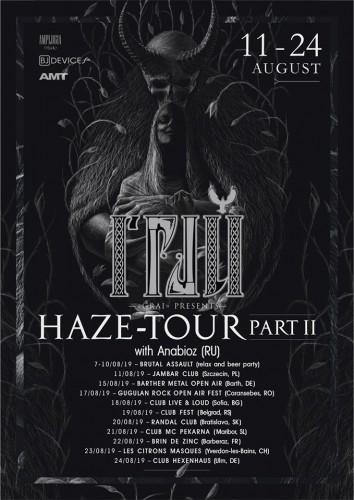 grai - tour poster2019