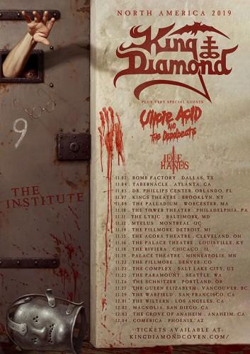 king-diamond-tour-2019