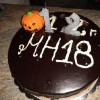 12 years metal hangar cake