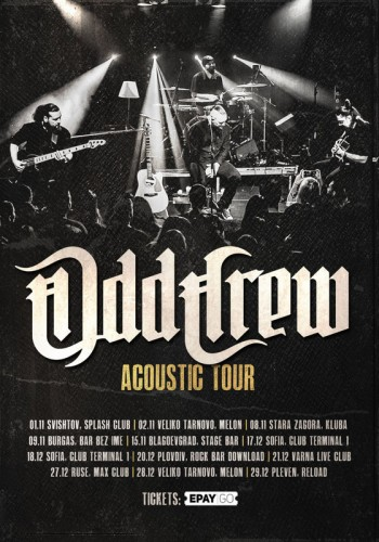 Odd crew -Acoustic-Tour-Nov-Dec-2019-2-poster