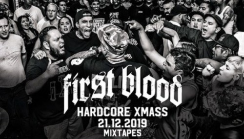 FIRST BLOOD hardcore x-mas