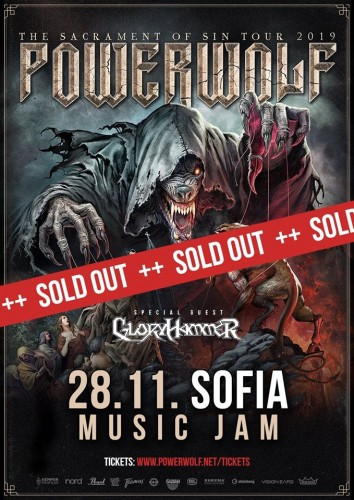 powerwolf sold out
