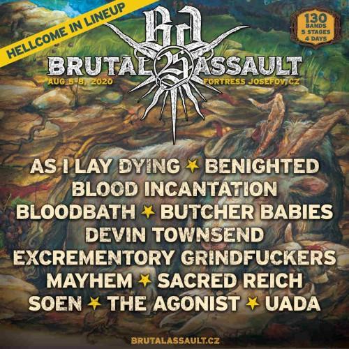 Brutal Assault Bands update 2019-12-03