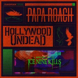 PapaRoachHollywoodUndead-support