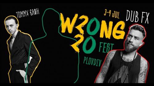 Wrong Fest 2020 FB cover