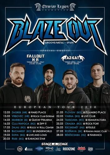 blaze out tour
