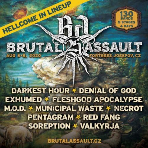 BRUTAL ASSAULT Bands update 2019-02-03