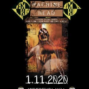 machine head SF poster 50 70